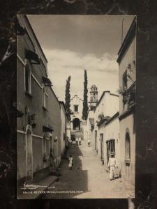 Mint Cuernavaca Mexico RPPC Postcard Tepetates Street