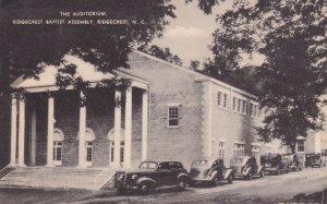 RIDGECREST, North Carolina, PU-1939; The Auditorium, Ridgecrest Baptist Assembly
