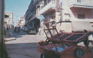 Puerto Rico San Juan Typical Street Scene sk4386