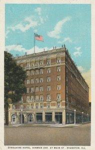 EVANSTON , IL, 1934 ; Evanston Hotel