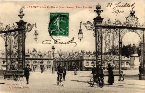 CPA  Nancy - Les Grilles de Jean Lamour - Place Stanislas  (484024)
