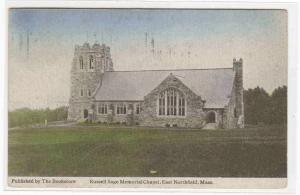 Sage Chapel East Northfield Massachusetts 1907 postcard