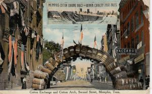 MEMPHIS , Tennessee , PU-1911 ; Cotton Arch , Second Street