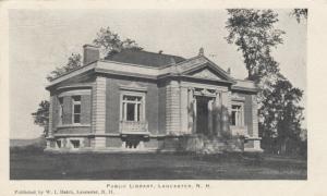 LANCASTER, New Hampshire, 1908 ; Public Library