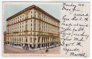 Indianapolis, Ind, The Claypool Hotel