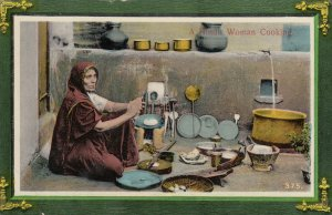 A Hindu Woman Cooking , India , 00-10s