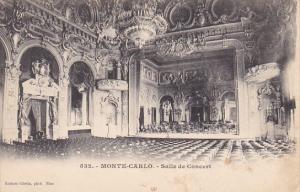 MONTE CARLO, Salle de Concert, Monaco, 00-10s