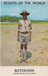 Boy Scouts of the World: Botswana, 1968