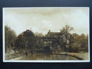 Kent nr Sissinghurst BRANDEN HOUSE Home of author Ian Davison - Old RP Postcard