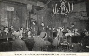 CPA Paris 18e (Dep. 75) Cabaret du Néant (82311)