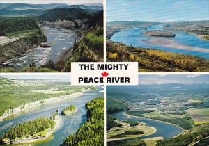 Canada Multi View Peace River Alberta
