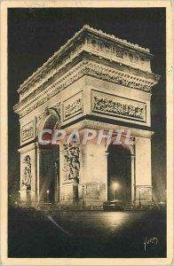 Old Postcard The Arc de Triomphe Etoile