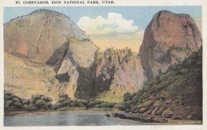 ZION National Park , Utah , 1910s ; El Gobenador