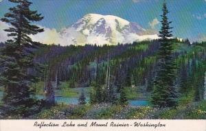 Reflection Lake And Mount Rainier Washington