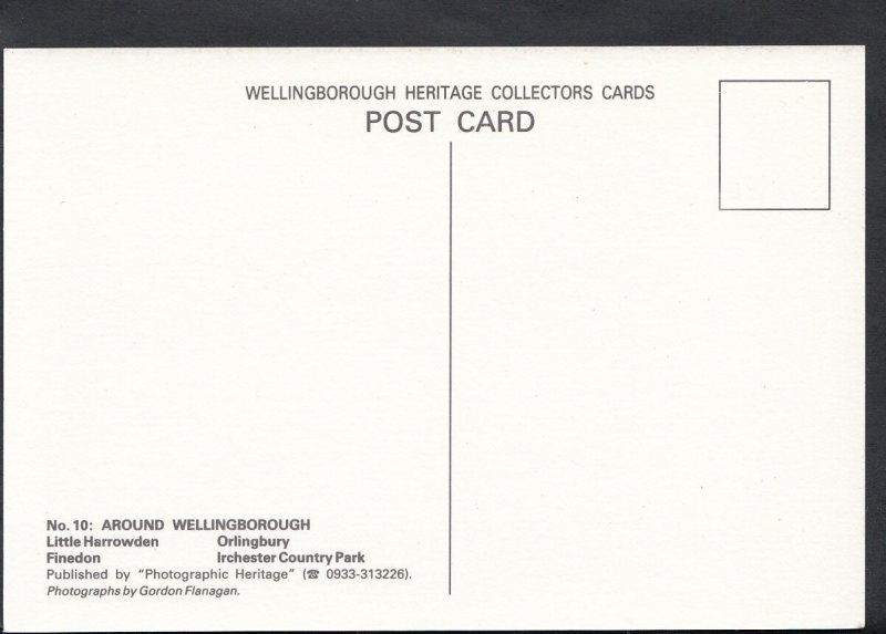 Northamptonshire Postcard - Views Around Wellingborough  A3203