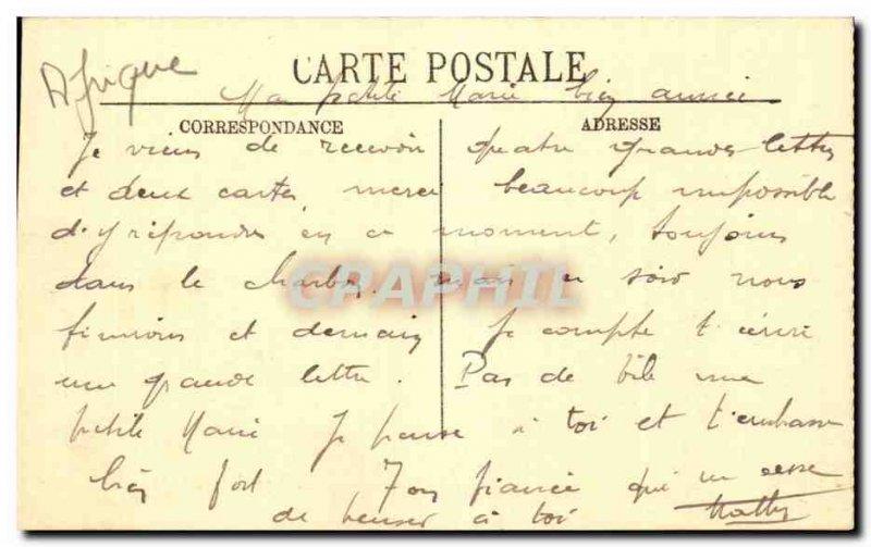 Old Postcard Guinea Conakry Vue du chateau