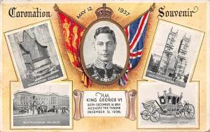 King George VI, Coronation 1937 Souvenir, Buckingham Palace, Coronation Coach