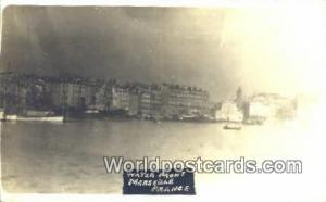 Marseille, France, Carte, Postcard Water Front Real Photo  Water Front Real P...