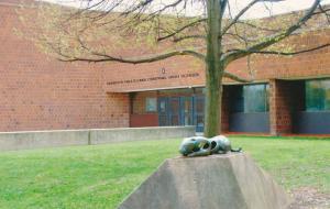 Honeoye Falls-Lima High School Main Entrance - Honeoye Falls NY, New York