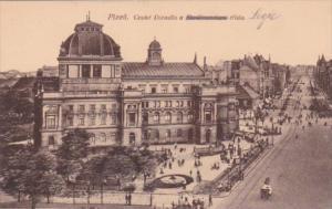 Czechoslovakia Pizen Ceske Divadlo