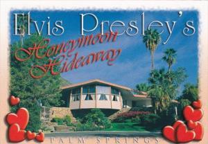 Elvis Presley Honeymoon HIdeaway Palm Springs California