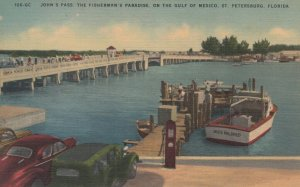 ST. PETERSBURG, FL, 30-40s; John's Pass, Fishermans's Paradise, Gulf of Mexico
