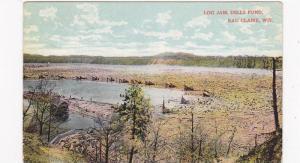 Log Jam, Dells Pond, Eau Claire,   Wisconsin, PU_1912