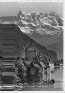 br105384 chateau de chillon et dents du midi switzerland