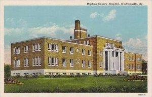 Kentucky Madisonville Hopkins County Hospital Curteich