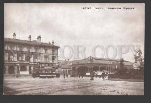 114701 UK England HULL Paragon Square & Station & Tramway OLD