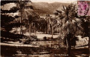CPA Monaco - Monte-Carlo - Les Jardins (476840)