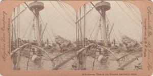 SV: CUBA , 1898 ; Wrecked Battleship MAINE ; #1