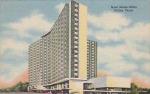 Texas Dallas Hotel Statler-Hilton Curteich