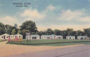 Windmill Court, U.S. Highways 61 and 84, NATCHEZ, Mississippi, 30-40's
