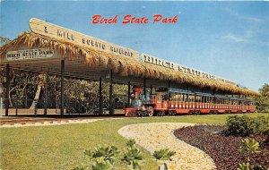 Hugh Taylor Birch State Park Scenic Railroad 1965 Postcard near Ft Lauderdale