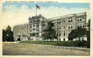 Edward Harvey Memorial Allentown PA 1933 Missing Stamp
