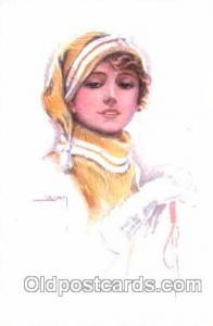 series 343/1 Artist Lottie Usabel (Italian) Postcard Post Card Series 343/1 s...