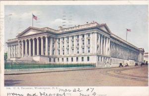 U S Treasury Washington D C 1907
