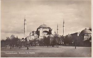 Turkey Constantinople Mosquee St Sophie Real Photo