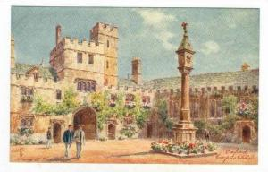 Corpus Christi College, Founded by Richard Fox, Oxford, England, UK, 1900-1910s