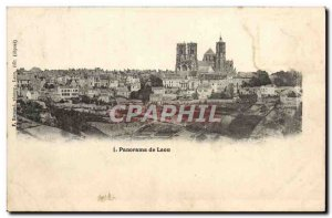 Old Postcard Panorama of Laon