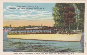 Uncle Sam, Leave Hotel Crossmon Dock, Uncle Sam Boat Tours, Inc., Alexandri...