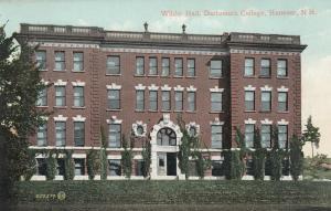 HANOVER, New Hampshire, 1900-10s; Wilder Hall,  Dartsmouth College