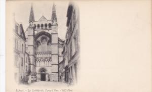 LISIEUX, Calvados, France; La Cathedrale, Portail Sud., 00-10s