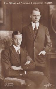 RP: PPrinz Wilhelm und Prinz Kouis Ferdinand von Preussen, Germany , 00-10s