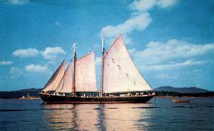 ME - Maine Coastline. Windjammer (Sailing)