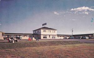 Exterior, Motel De Levis, Montmorency Falls, Quebec, Canada, 40-60s