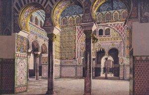 SEVILLA, Andalucia, Spain, 1900-1910s; Salon De Embajadores, Alcazar