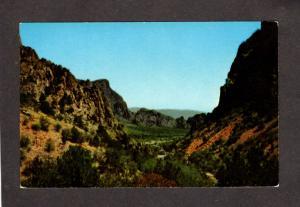 TX Pulliam Bluffs Big Bend National Park Texas near Alpine Texas