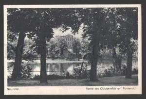 112422 Germany NEUZELLE Partie am Klosterteich Abbey Old PC